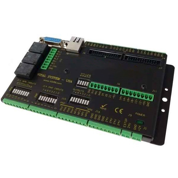 6-Axis Step/Direction Ethernet Motion Controller, Industrial Version, Mach4
