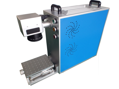 Portable Fiber Laser ENGRAVER, Fiber Marking Machine, 20W with Computer
