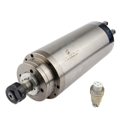 3.0KW 100mm High Speed Water Cooled CNC Spindle Motor for Woodwork 220V
