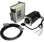 NEMA34110AC Closed Loop Stepper Motor, Driver Hybrid Servo Kit,1699 oz-in, Shaft size 1/2″