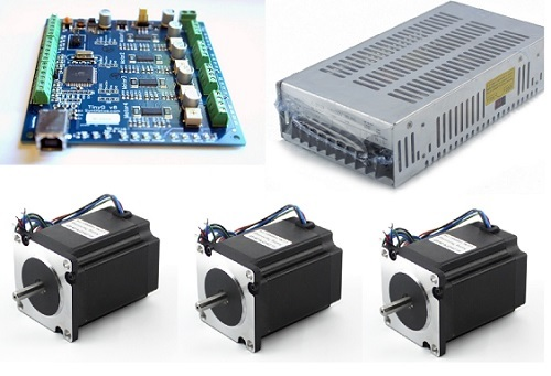 High-Torque Stepper Motor, Stepper Motor, Driver, Stepper Motor kit on