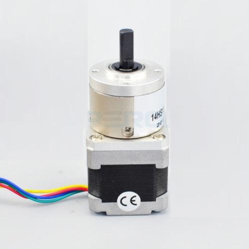 5:1 Planetary Gearbox Nema 14 Stepper Motor DIY CNC Robot 3D Printer