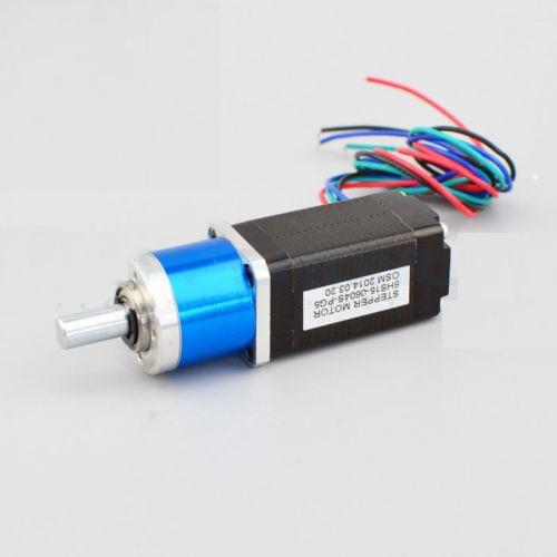 90:1 Planetary Gearbox Nema 8 Stepper Motor Low Speed High Torque