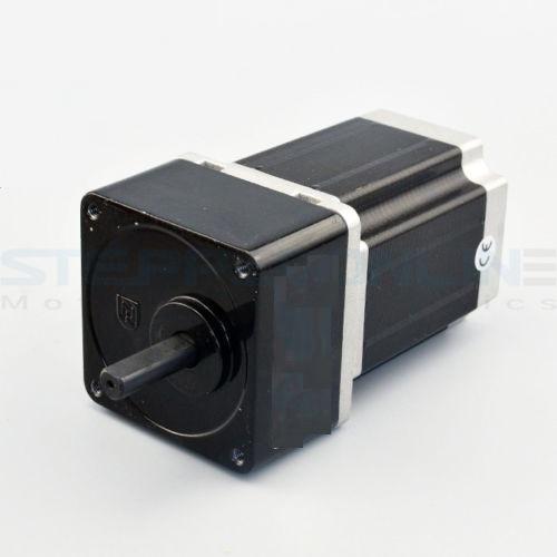 5:1 Spur Gearbox Nema 23 Stepper Motor 8mm Shaft CNC Mill Lathe Router
