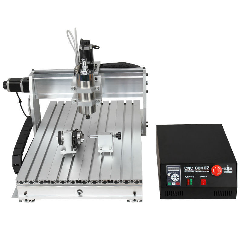 NEW 4 Axis 6040 1.5KW MACH3, Mach4  CNC ROUTER ENGRAVER/ENGRAVING 110VAC