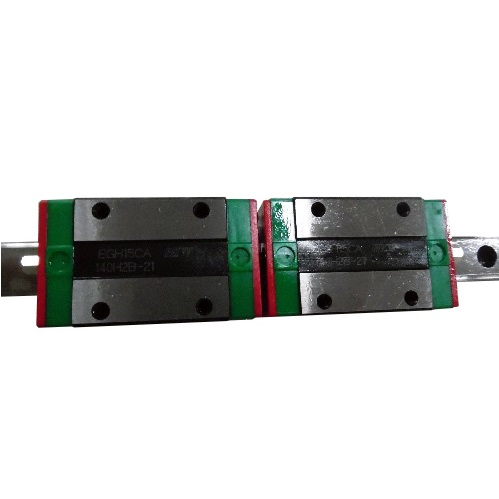 HIWIN L750mm Linear Guide Rail EGR15 With 2pcs Linear Guide Blocks EGH15CA CNC