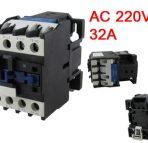 CJX2-2510 32A 3 Pole N.O. AC   for CNC Machine