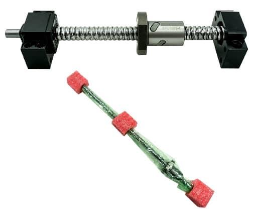 1605 Ballscrew with Ballnut & BF/BK12 End support kit