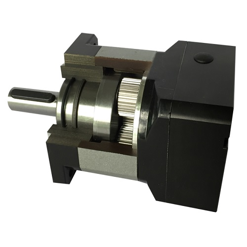 KL-34GH101PS 10:1 Helical Planetary Gearbox, Output Shaft: 20 mm