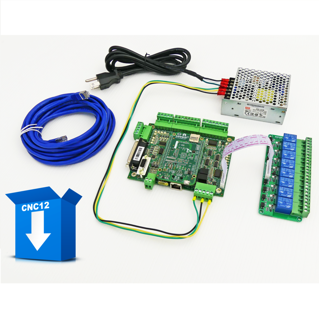 Acorn CNC Controller with Ethernet Connection, Free Centroid Software