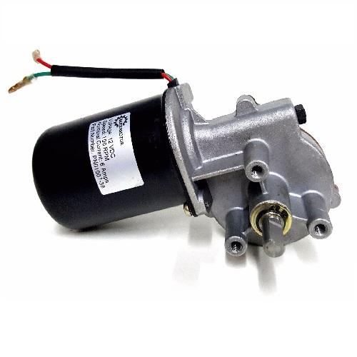 10mm 2-flat Shaft 100 RPM Gear Motor 12v DC Low Speed Reversible