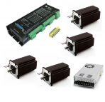 4 Axis Kit with NEMA23 570 oz-in Stepper Motor