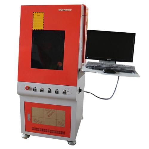 Fiber Laser Engraver, Fiber Marking Machine with Computer and Software