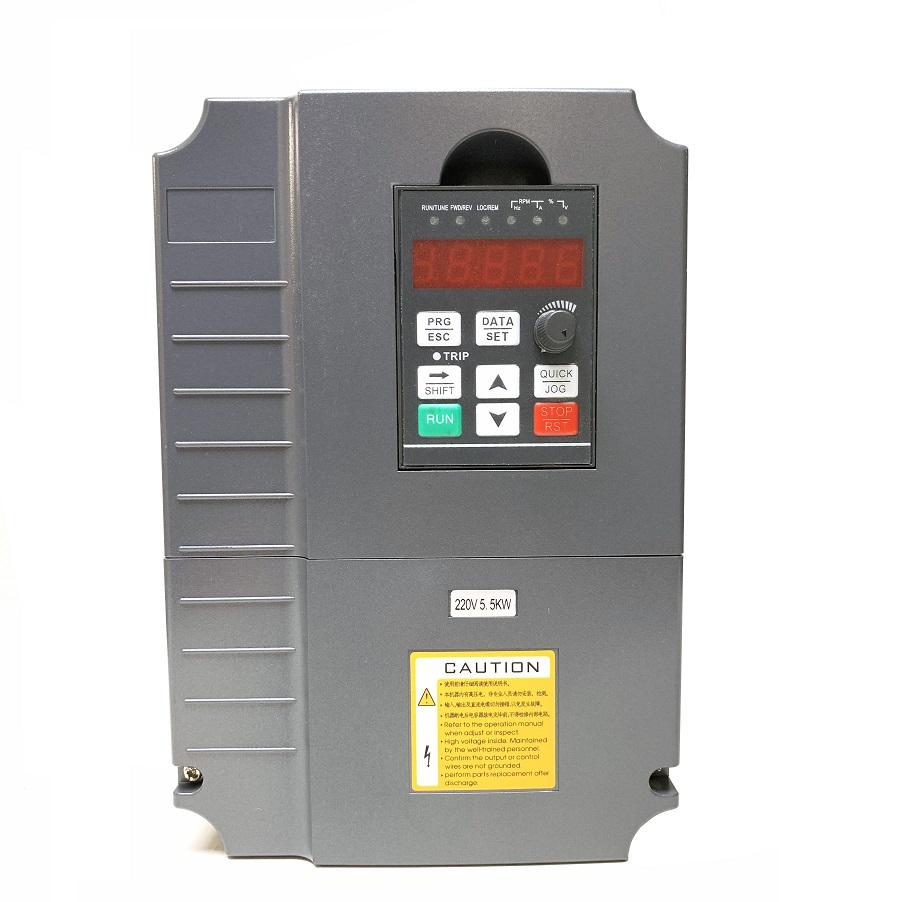 CNC VFD 220V 5.5KW 7.5HP for Motor Speed Control  GT-Series (220V, 5.5KW)KL-VFD55G