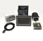 Touchscreen Human Machine Interface(HMI) with Programmable Logic Controller(PLC) NEMA34 CNC Kits