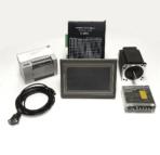 Touchscreen Human Machine Interface(HMI) with Programmable Logic Controller(PLC) NEMA34 CNC Kits
