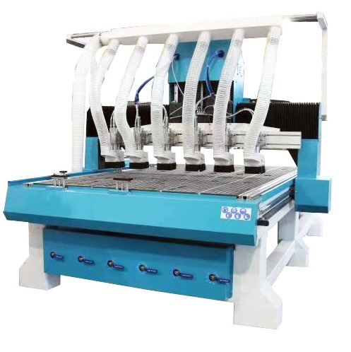 KL-1325 4×8 CNC Router Machine with 6 Spindles