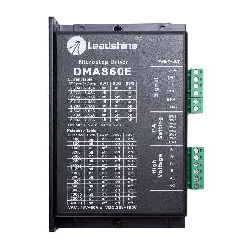 2-Phase Digital Stepper Drives DMA860E