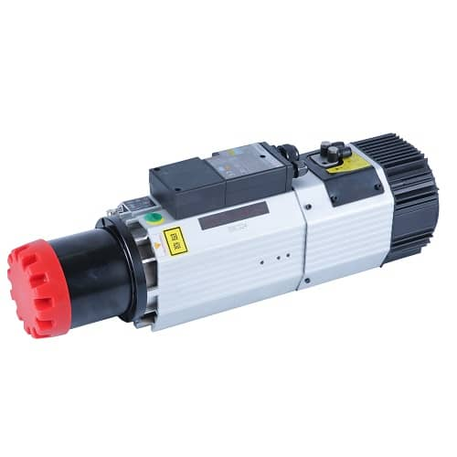 9KW Air-cooled ATC Spindle Motor ISO30 220V 24000rpm Long Nose Replace HSD