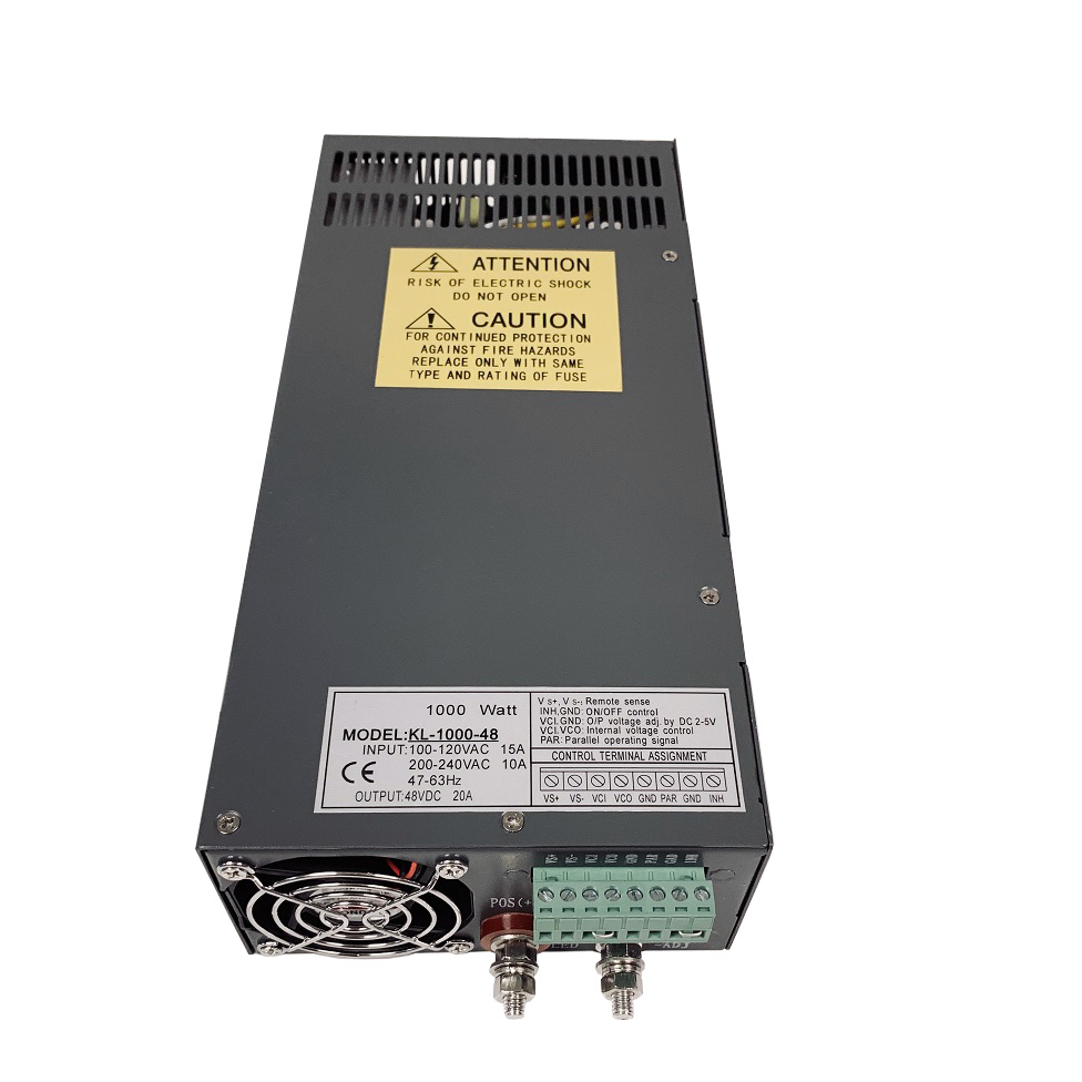 48V/20A Switching CNC Power Supply (KL-1000-48)