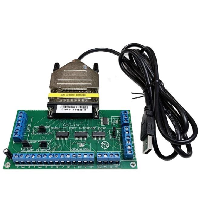 USB Breakout Board with Pokeys57CNCdb25 for Mach3 or Mach4