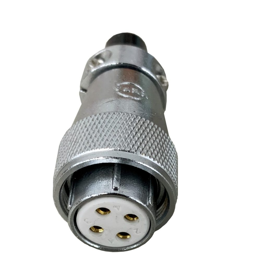 Female Round Threaded Spindle Connector