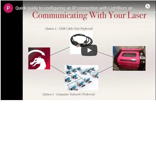 LightBurn Laser Controller and CAD Design Software