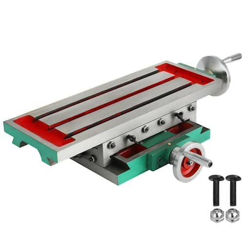 2 Axis Compound Milling Machine Bench Fixture Worktable Cross Slide Table Drill Vise