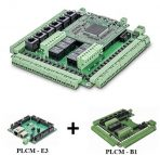 6 Axis Ethernet/USB CNC Motion Control Board PLCM-E3 & Expansion Board PLCM-B1 for PUMOTIX and MACH3