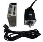 NEMA34 Closed Loop Stepper Motor System-Hybrid Servo Kit 1128 oz-in ( KL-8080L&KL34-8N-1000L)