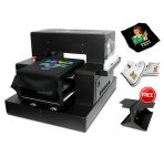 A3 Flatbed DTG Printer for T-Shirt, Canvas Shoes, and Bag Inkjet Printing Machine