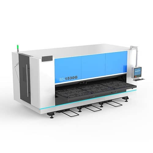 5′ X 10′ Fiber Laser Cutter for Metal Sheet with Single Table SF1530G
