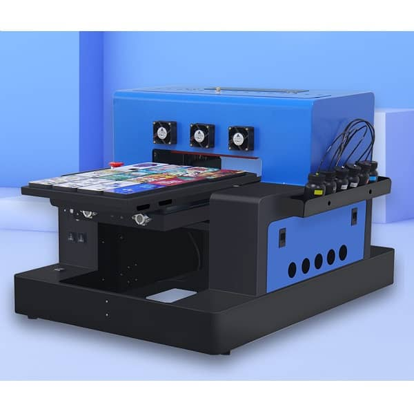 A3 Flatbed UV Printer for Cylindrical Signs Glass Metal 3D Rotation Embossed